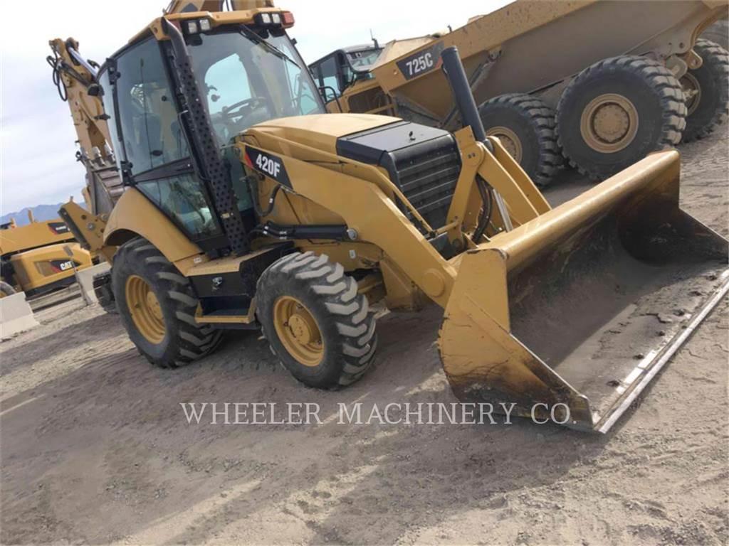 Caterpillar 420F E、バックホーローダ、建設