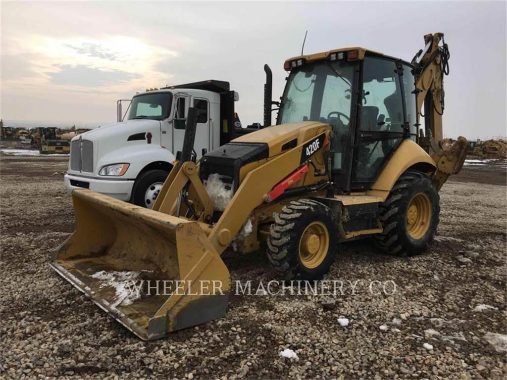 Caterpillar 420F E TH, baggerlader, Bau-Und Bergbauausrüstung