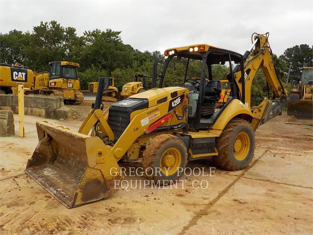 Caterpillar 420F/HAM, koparko-ładowarki, Sprzęt budowlany