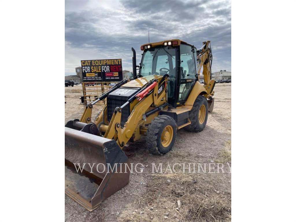 Caterpillar 420F IT, backhoe loader, Construction