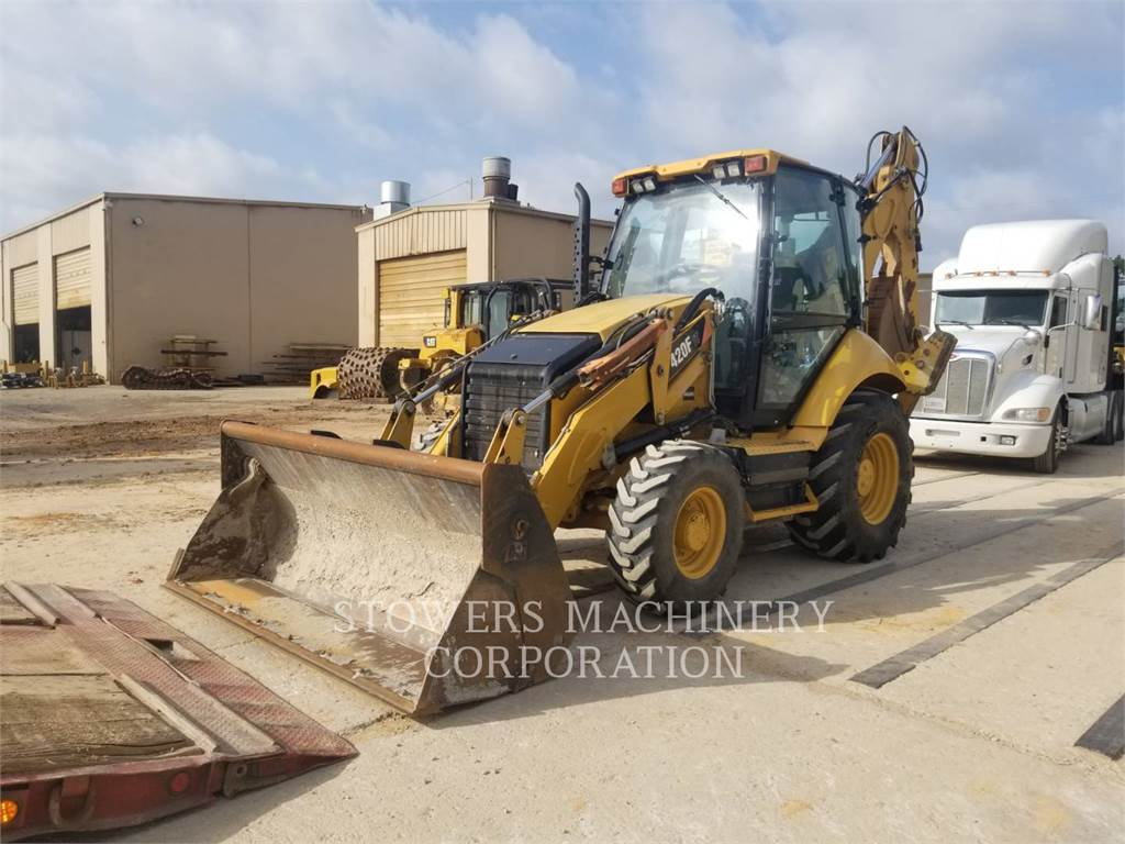Caterpillar 420F IT, buldoexcavatoare, Constructii