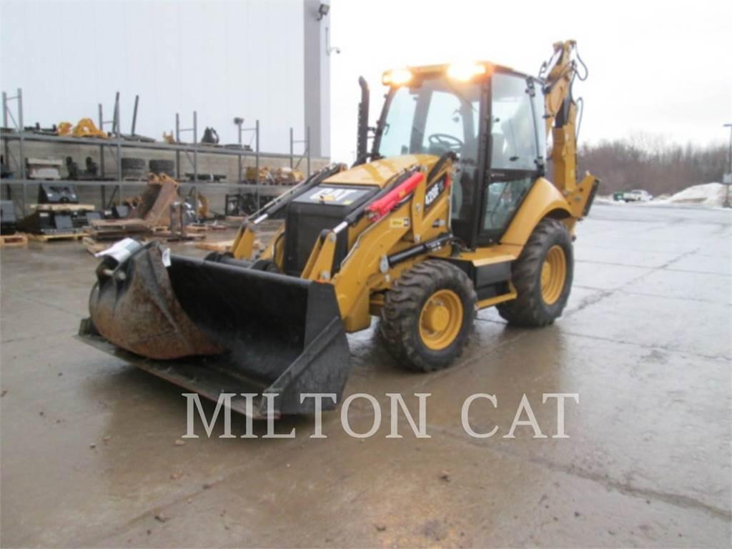 Caterpillar 420F IT, retroexcavadoras cargadoras, Construcción
