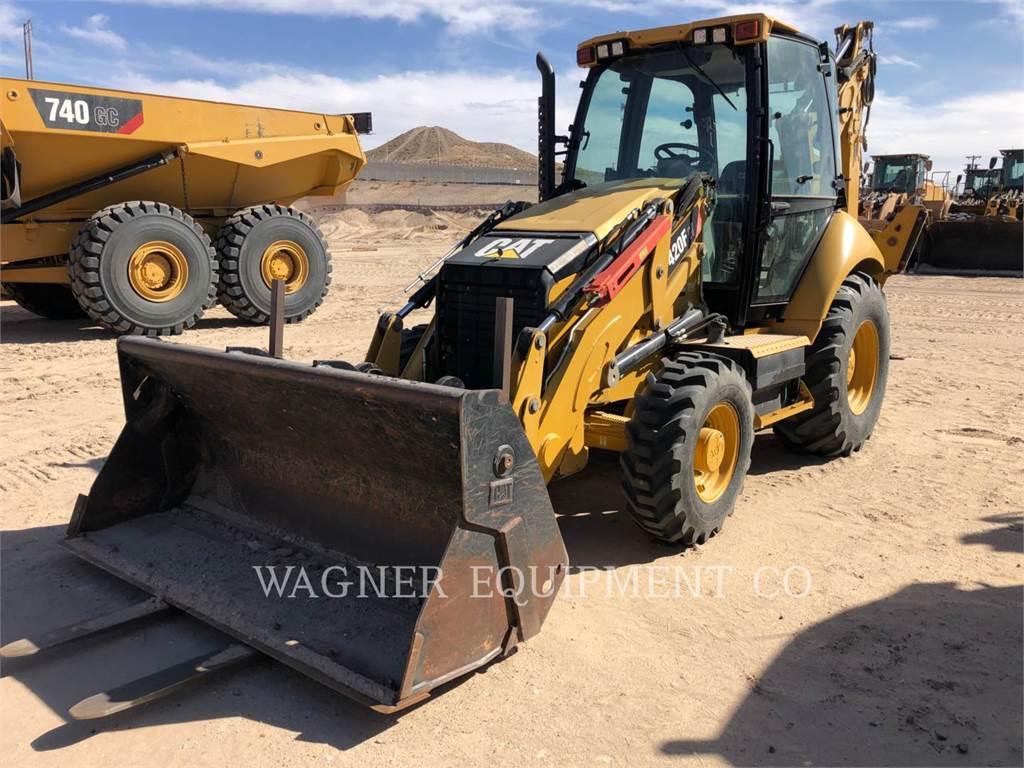 Caterpillar 420F IT4WD, backhoe loader, Construction