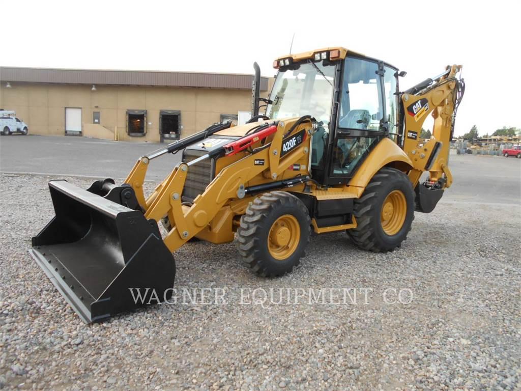 Caterpillar 420F IT4WE、バックホーローダ、建設