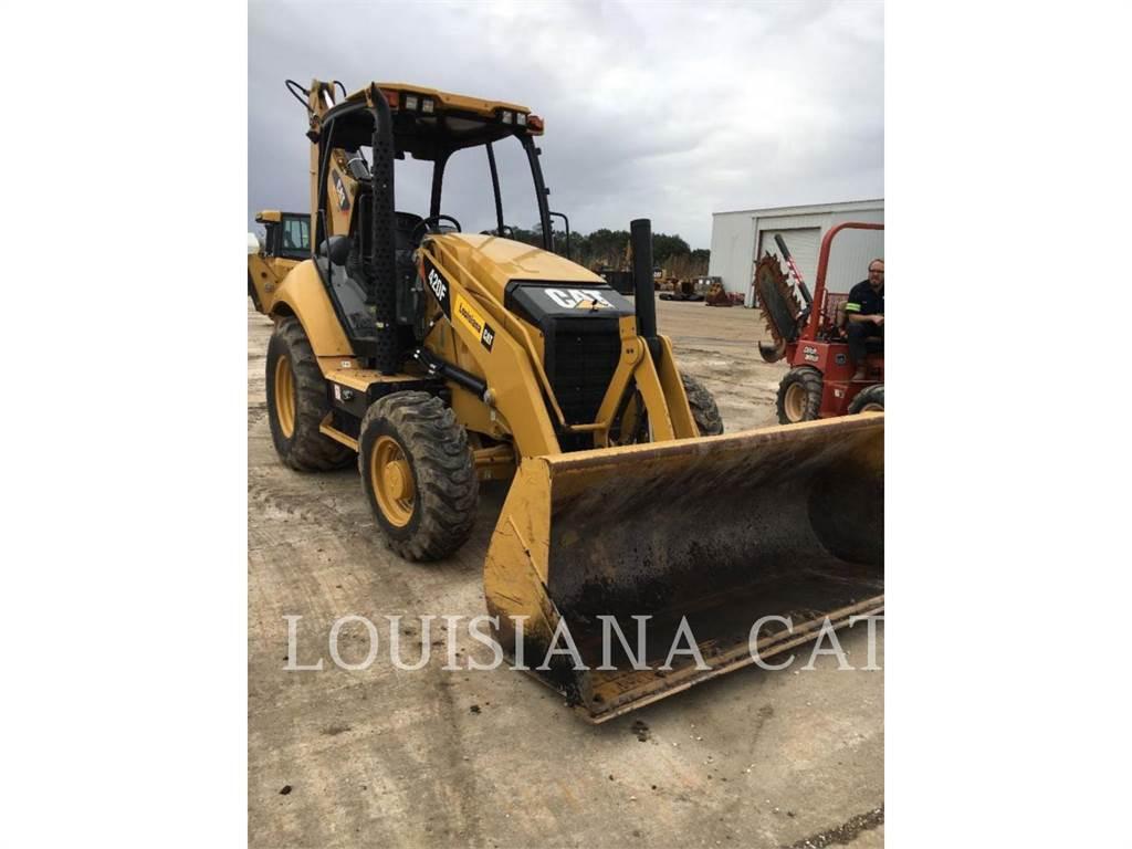 Caterpillar 420F LAGSO, backhoe loader, Construction