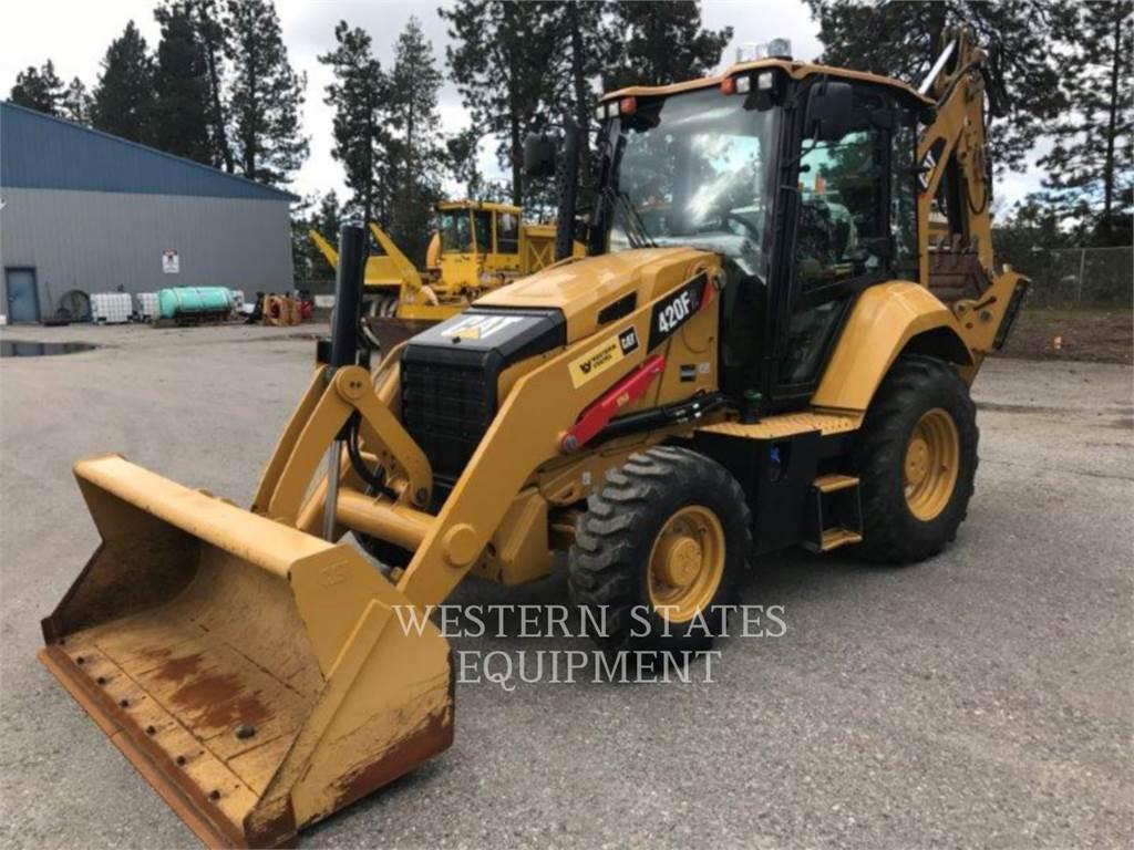 Caterpillar 420F2, baggerlader, Bau-Und Bergbauausrüstung