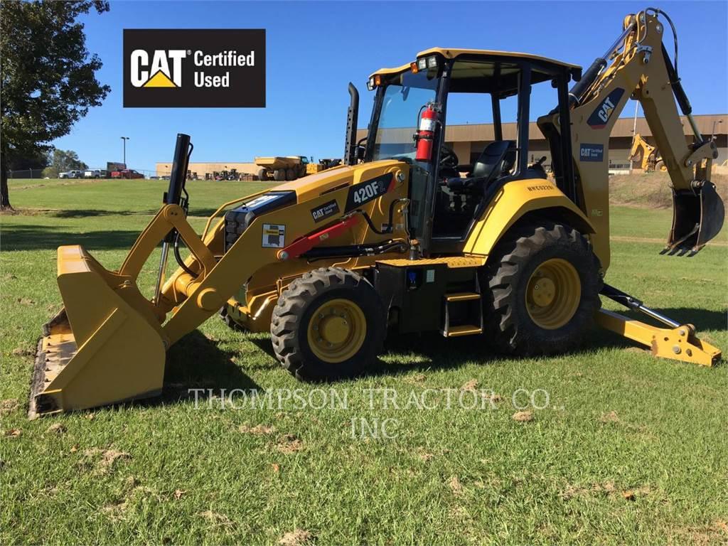 Caterpillar 420F2, retroescavadeiras, Equipamentos Construção