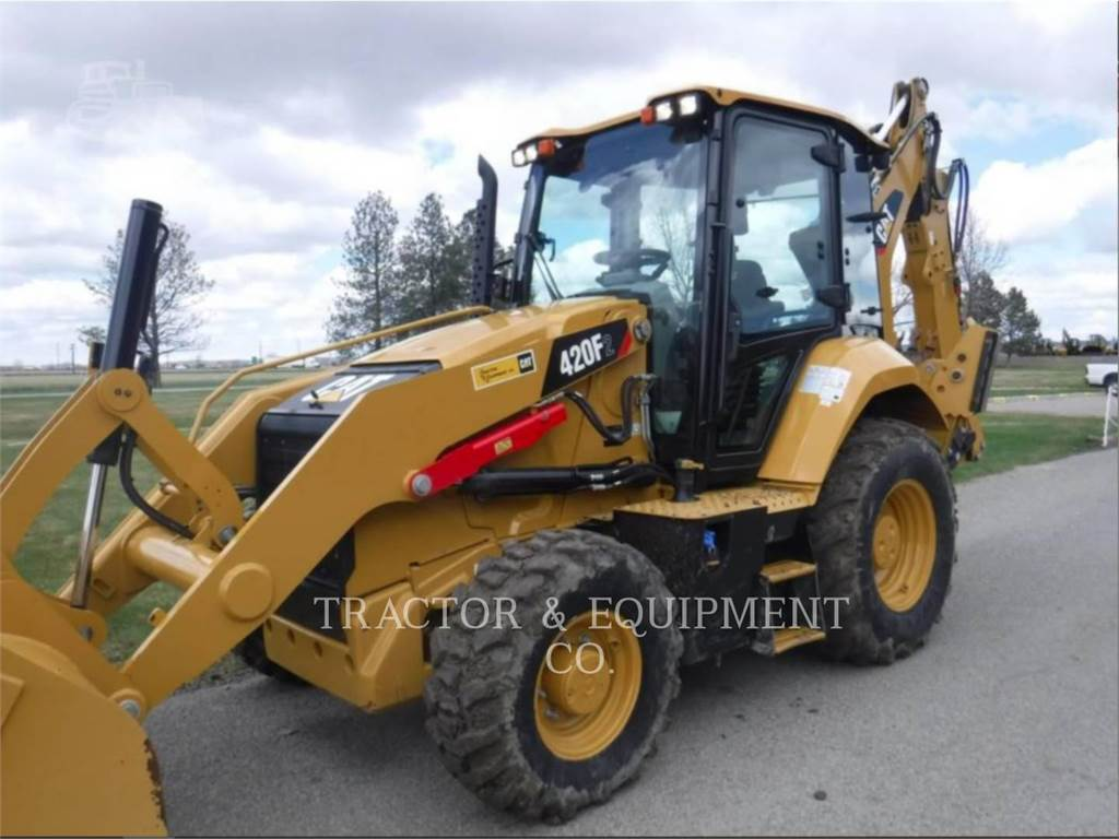 Caterpillar 420F2 4ECB, backhoe loader, Construction