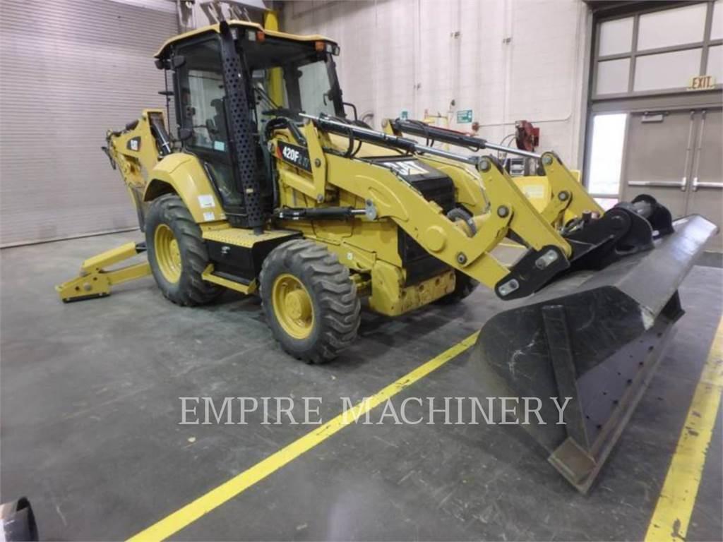 Caterpillar 420F2 4ECI, buldoexcavatoare, Constructii