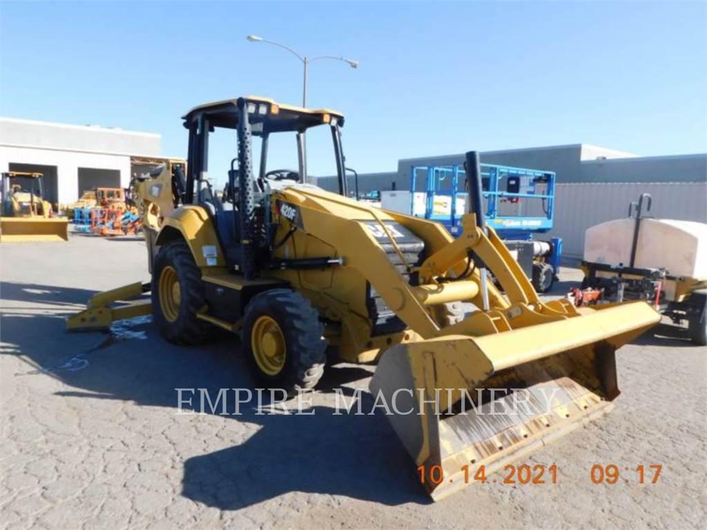 Caterpillar 420F2 4EO、バックホーローダ、建設