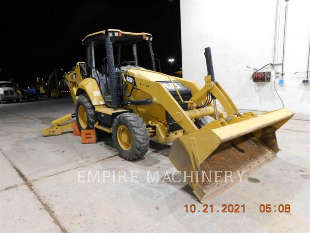Caterpillar 420F2 4EO, retroexcavadoras cargadoras, Construcción