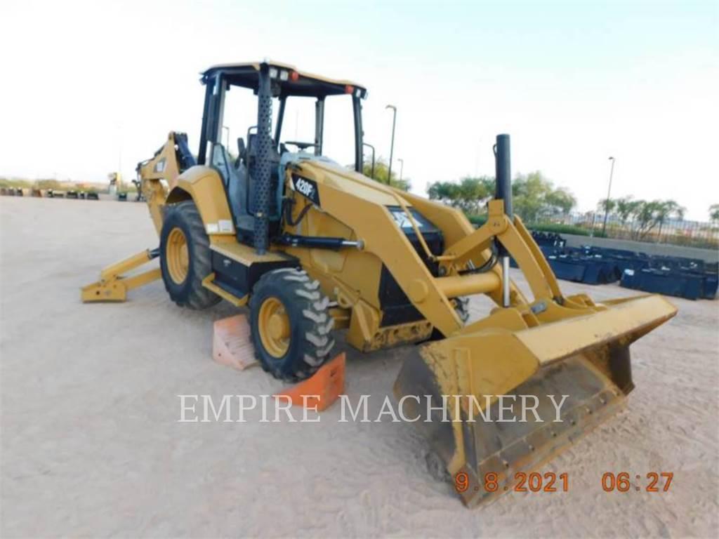 Caterpillar 420F2 4EO, backhoe loader, Construction