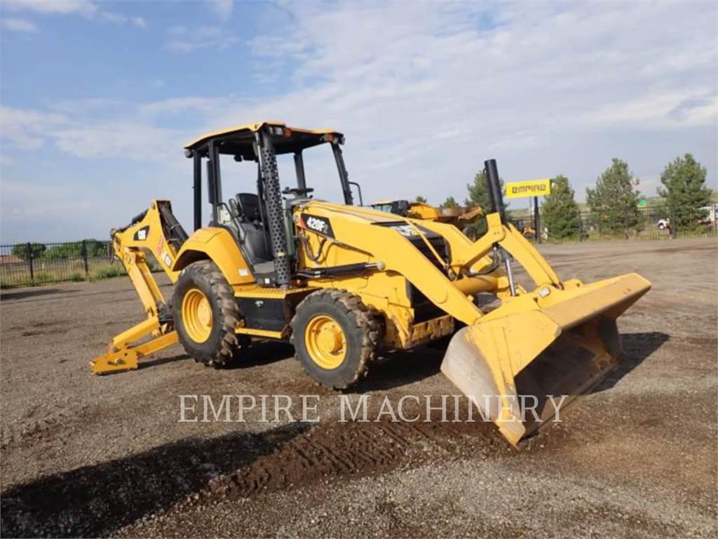 Caterpillar 420F2 4EO, koparko-ładowarki, Sprzęt budowlany