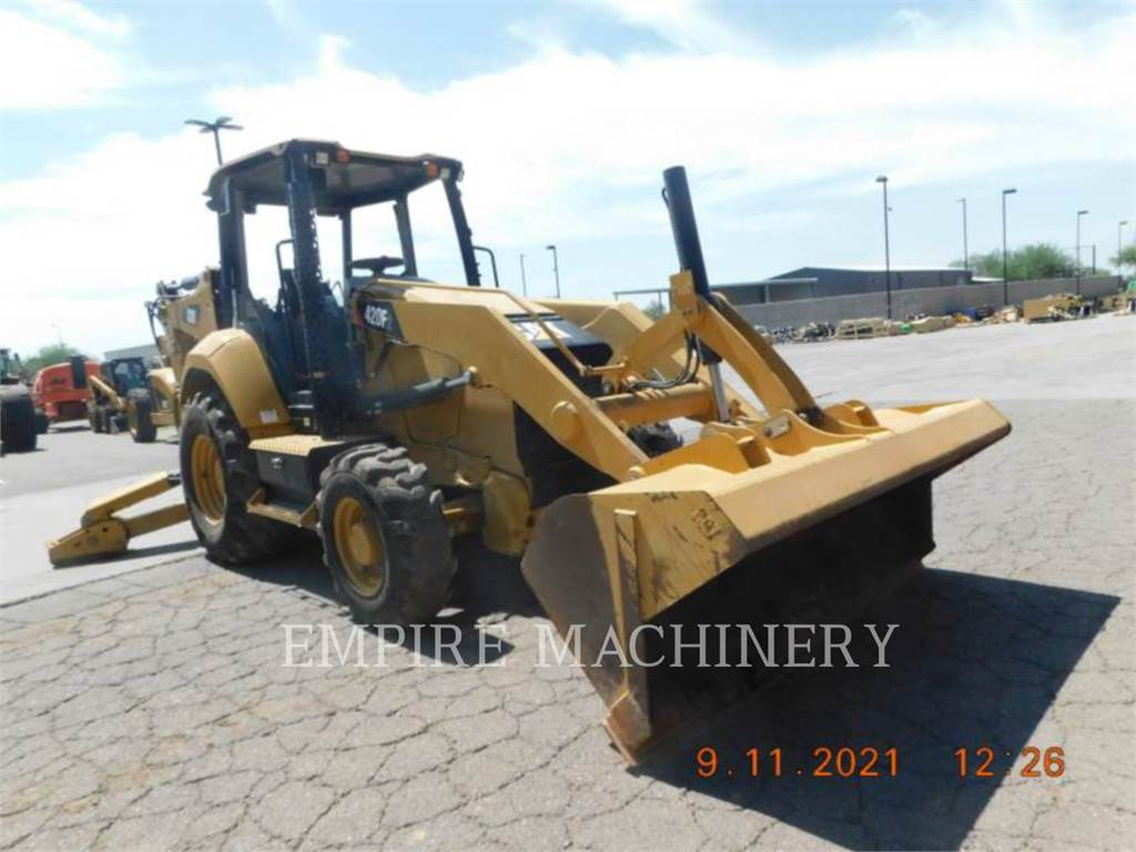 Caterpillar 420F2 4EO, backhoe loader, Construction