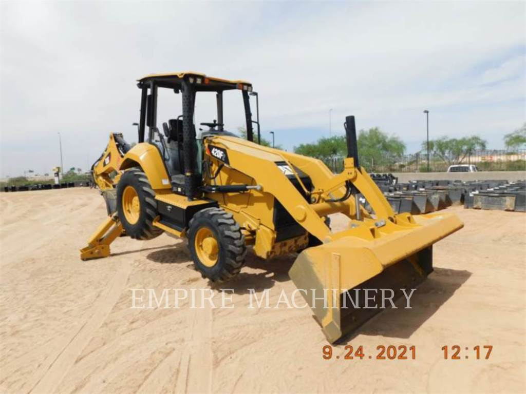 Caterpillar 420F2 4EOP, backhoe loader, Construction