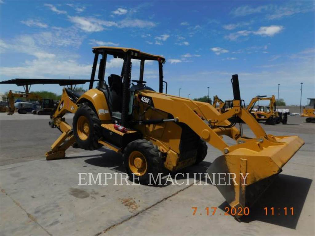 Caterpillar 420F2 4EOP, backhoe loader, Construction