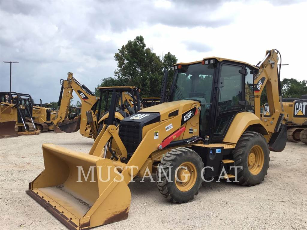 Caterpillar 420F2 4SCA, backhoe loader, Construction