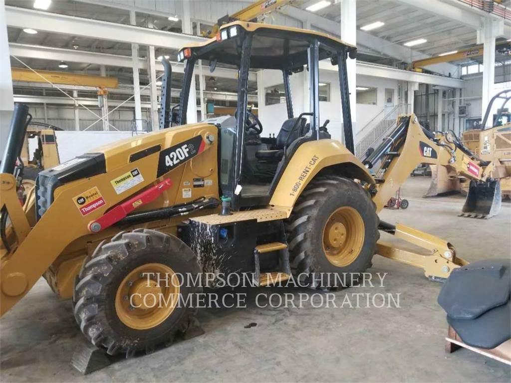 Caterpillar 420F2, chargeuses-pelleteuses, Équipement De Construction