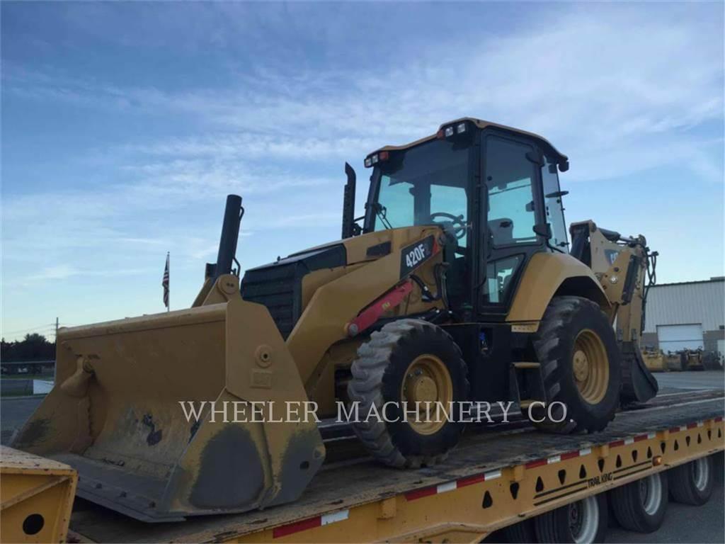 Caterpillar 420F2 E, retroexcavadoras cargadoras, Construcción