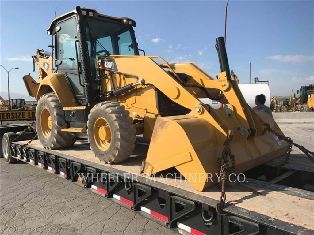 Caterpillar 420F2 E, chargeuses-pelleteuses, Équipement De Construction