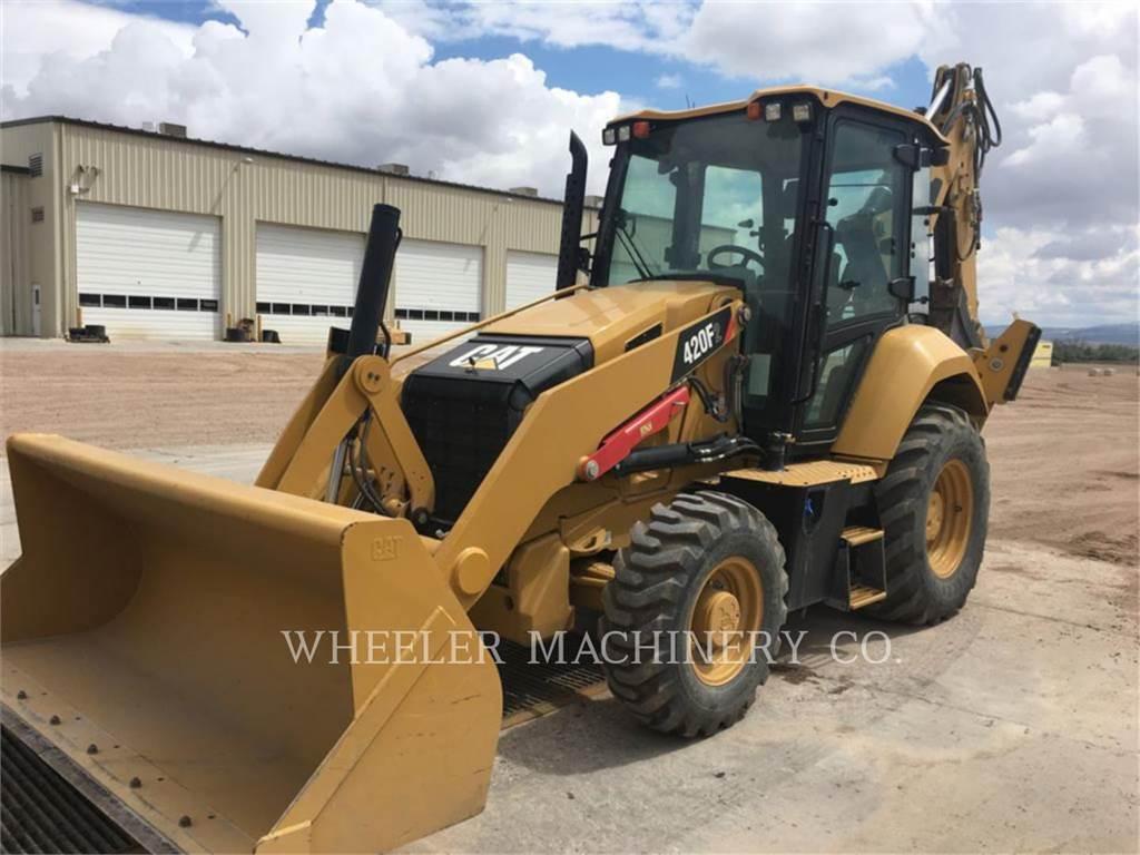 Caterpillar 420F2 E CF、バックホーローダ、建設