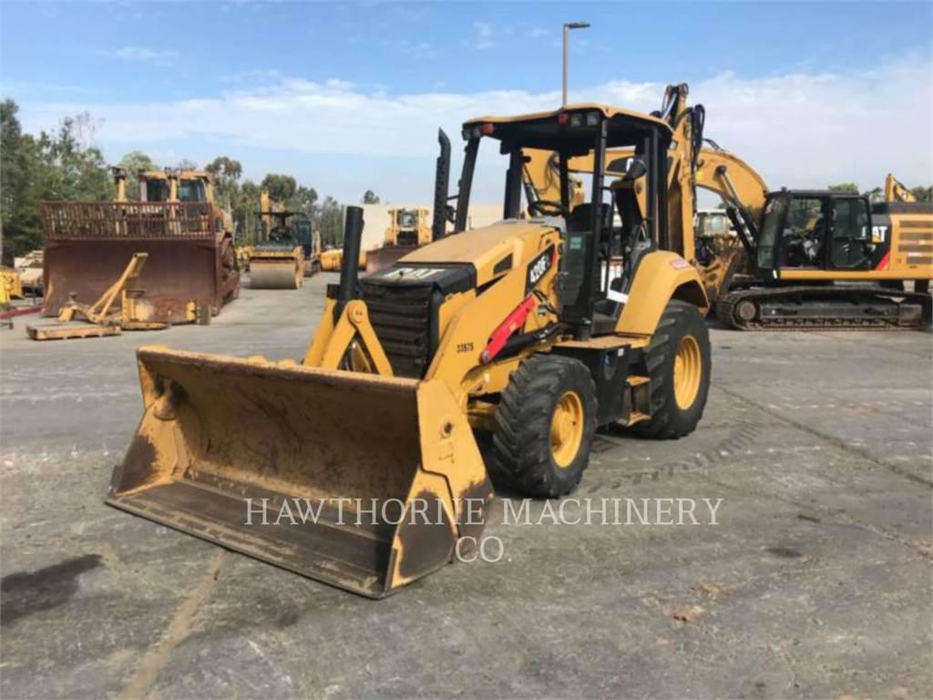 Caterpillar 420F2, backhoe loader, Construction