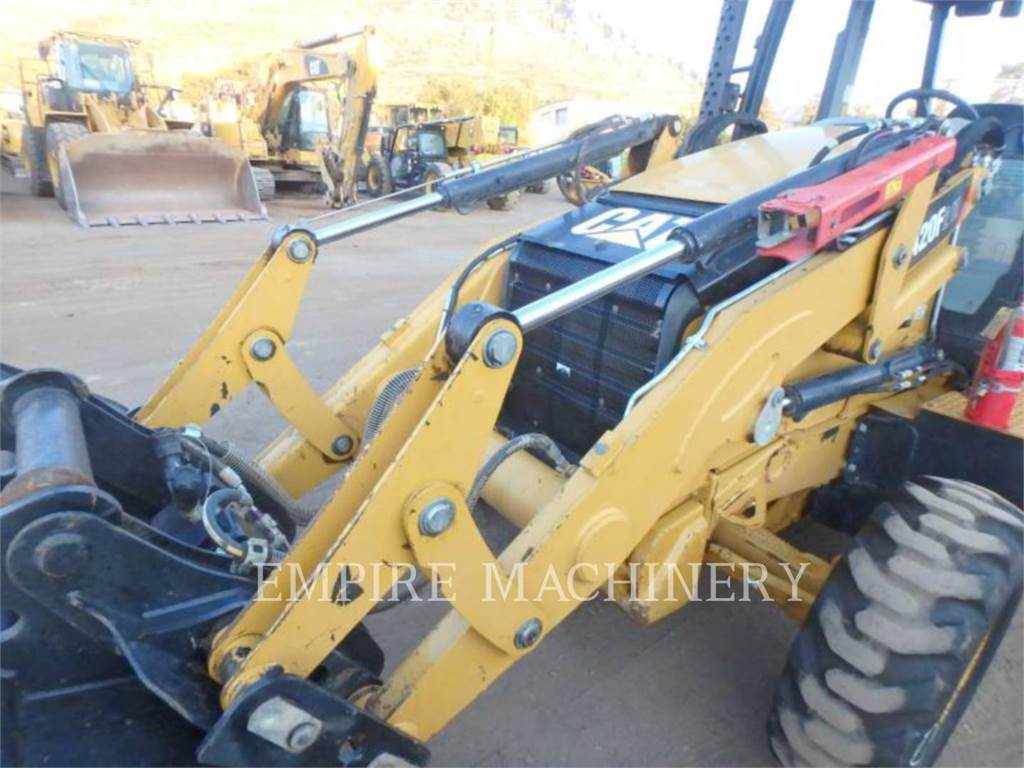 Caterpillar 420F2 HRC, backhoe loader, Construction