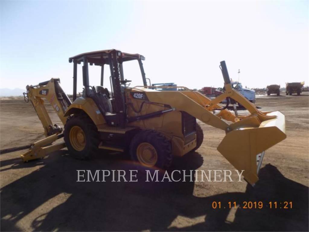 Caterpillar 420F2 HRC, backhoe loader, Construction