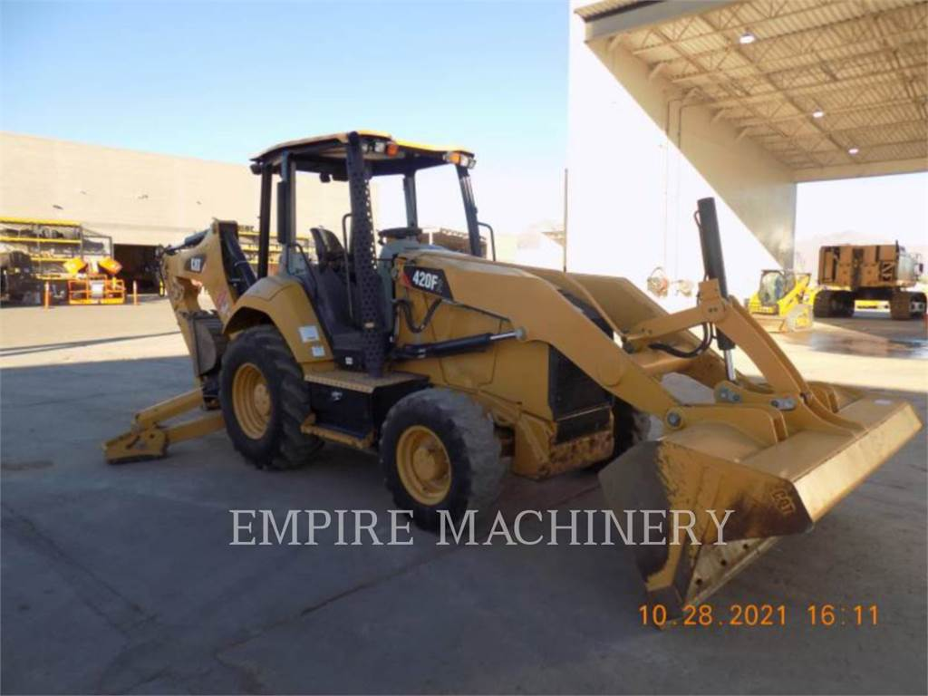 Caterpillar 420F2 HRC, retroexcavadoras cargadoras, Construcción