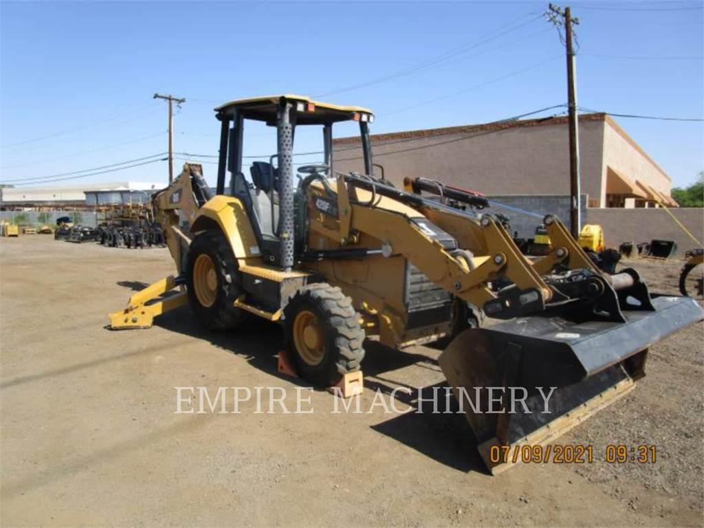 Caterpillar 420F2 HRC, buldoexcavatoare, Constructii