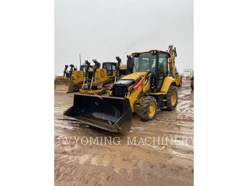 Caterpillar 420F2 IT, backhoe loader, Construction