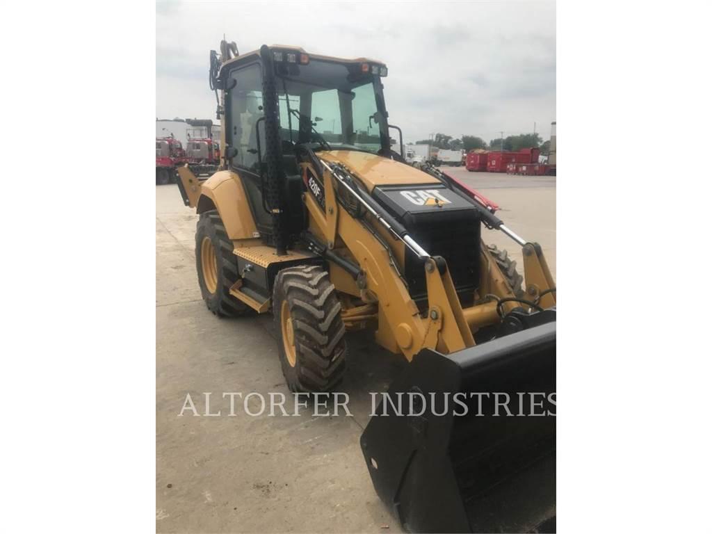 Caterpillar 420F2 IT, buldoexcavatoare, Constructii