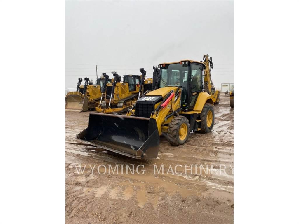 Caterpillar 420F2 IT, backhoe loader, Construction