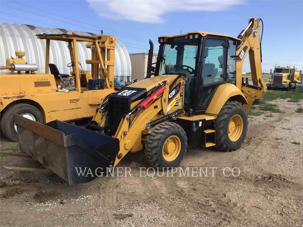 Caterpillar 420F2 IT4W, backhoe loader, Construction