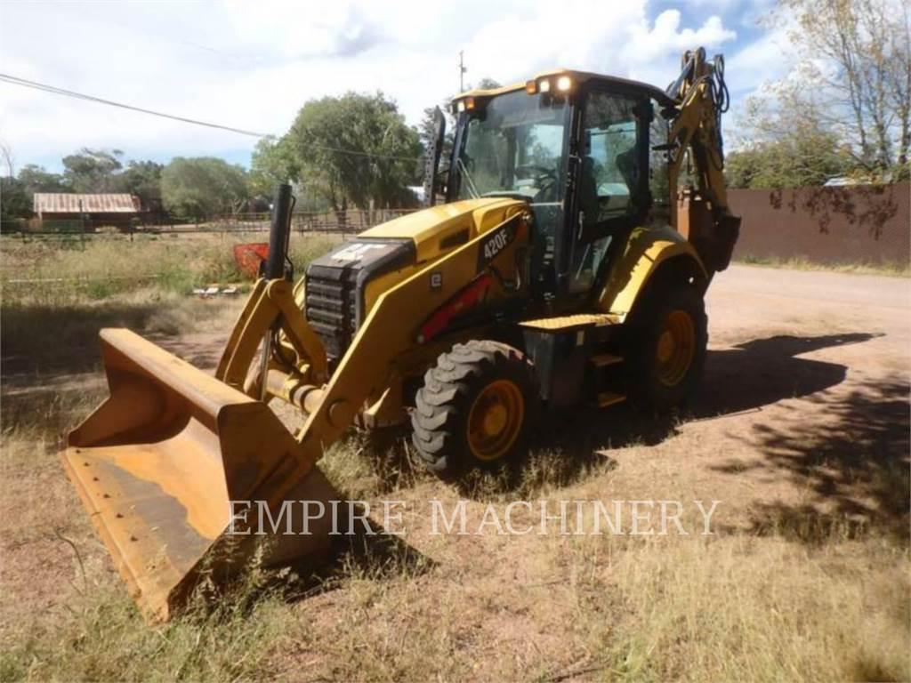 Caterpillar 420F24ECP, backhoe loader, Construction