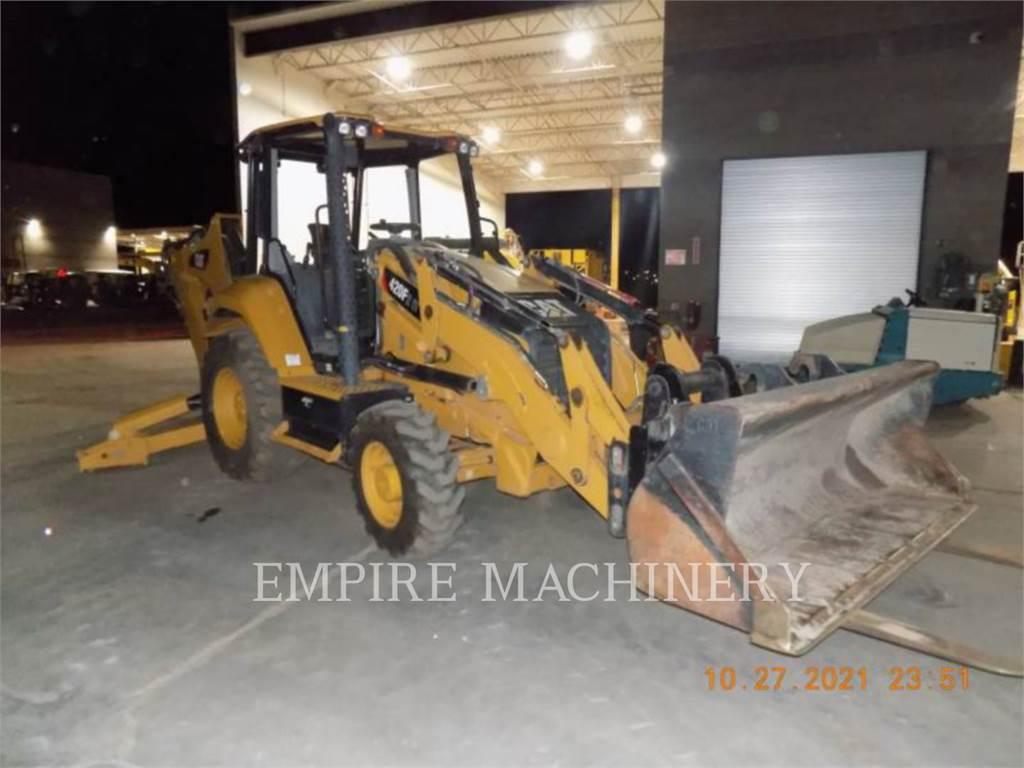 Caterpillar 420F24EOIP, backhoe loader, Construction