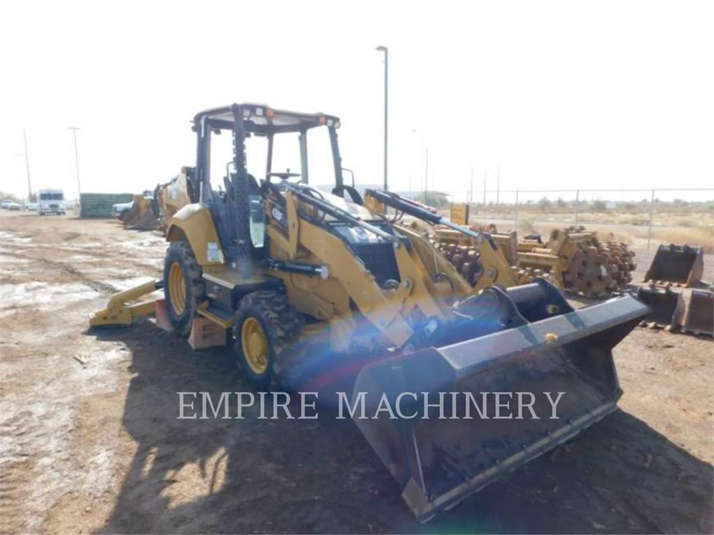 Caterpillar 420F24EOIP, buldoexcavatoare, Constructii