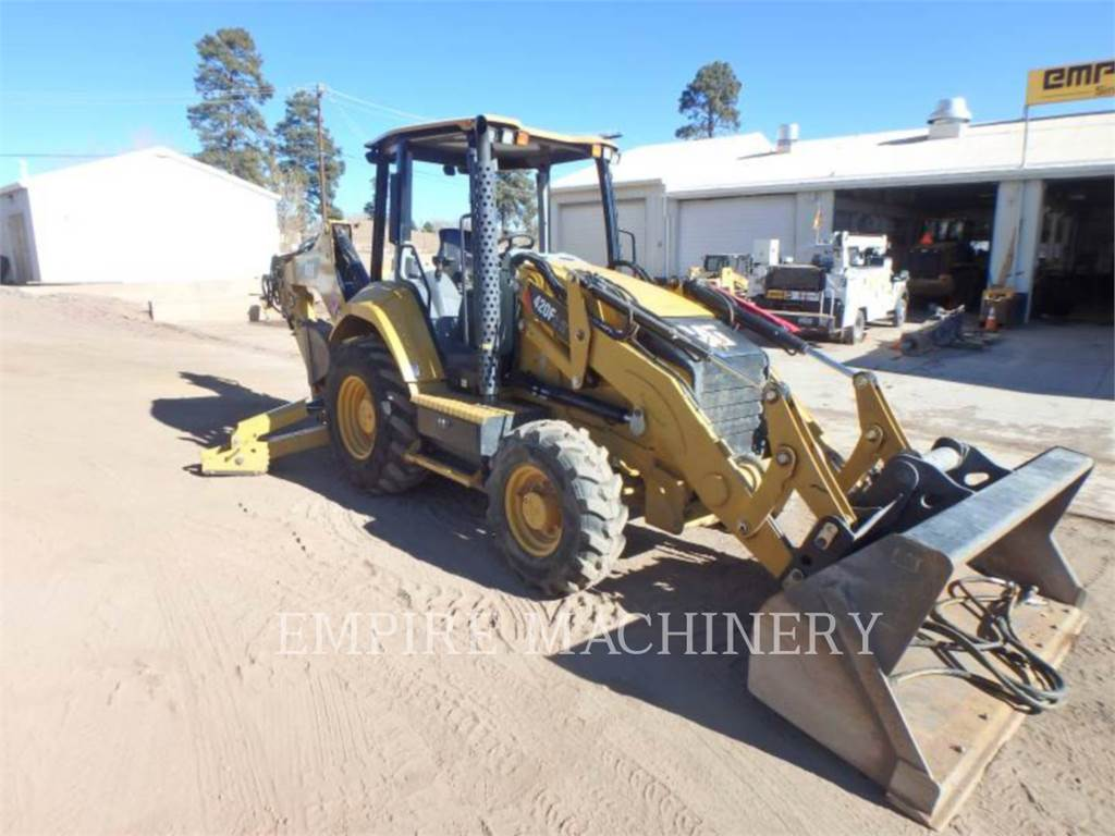 Caterpillar 420F24EOIP, chargeuses-pelleteuses, Équipement De Construction
