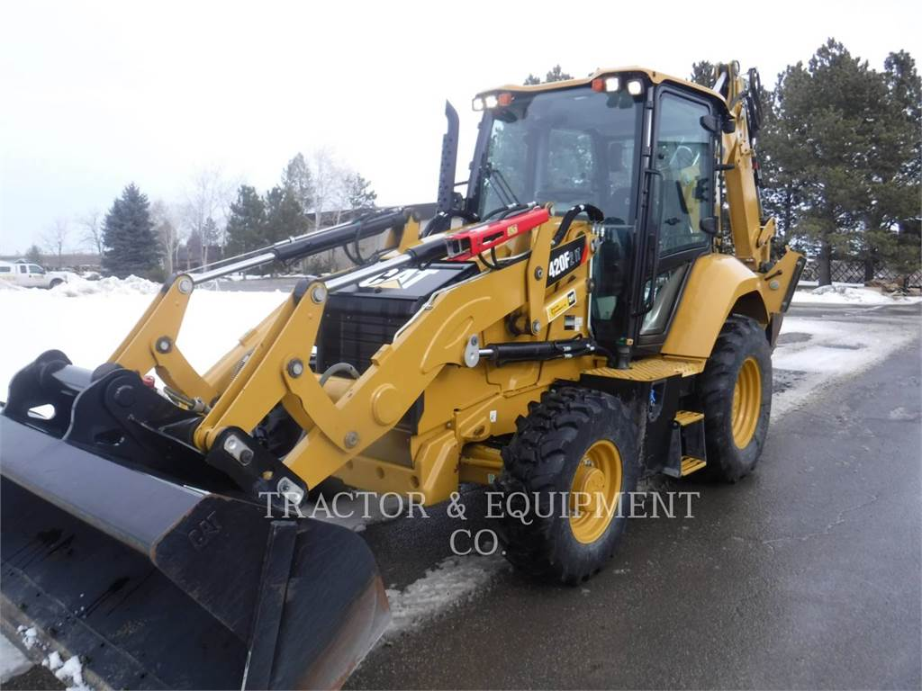 Caterpillar 420F24ETCB, retroexcavadoras cargadoras, Construcción