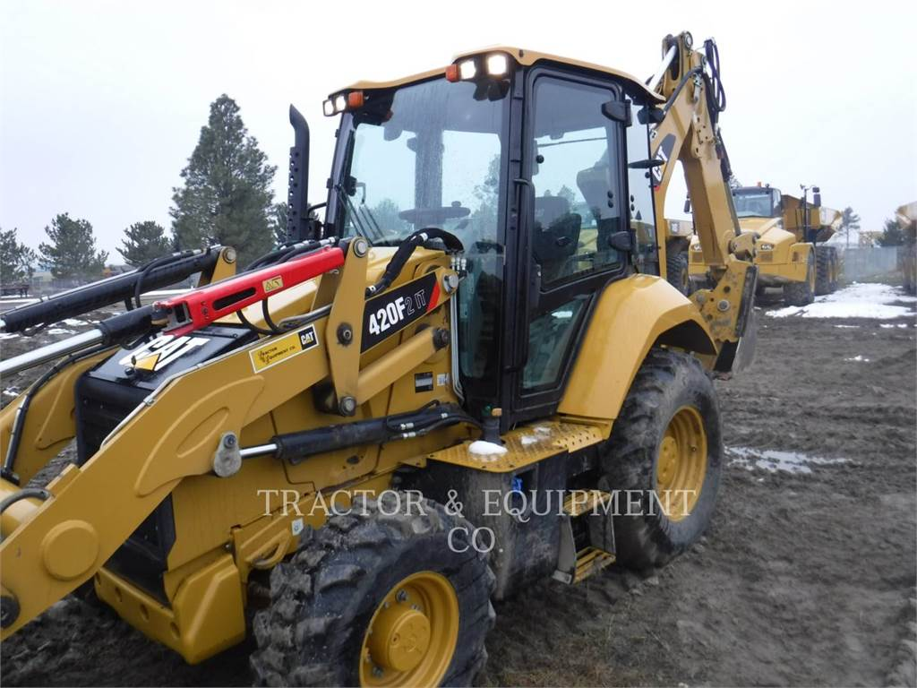 Caterpillar 420F24ETCB, backhoe loader, Construction