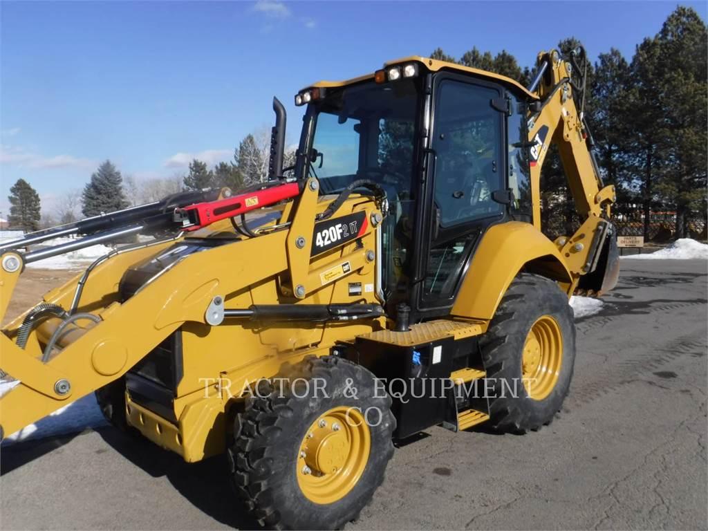 Caterpillar 420F24ETCB, backhoe loader, Construction