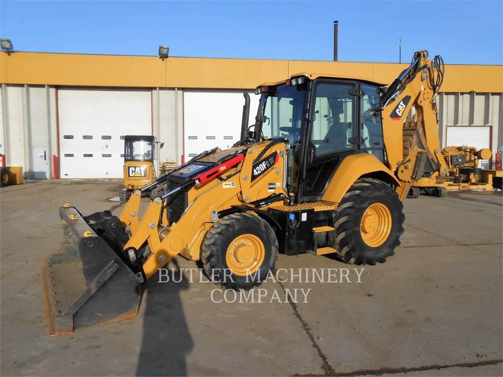 Caterpillar 420F2IT、反铲装载机、建筑设备