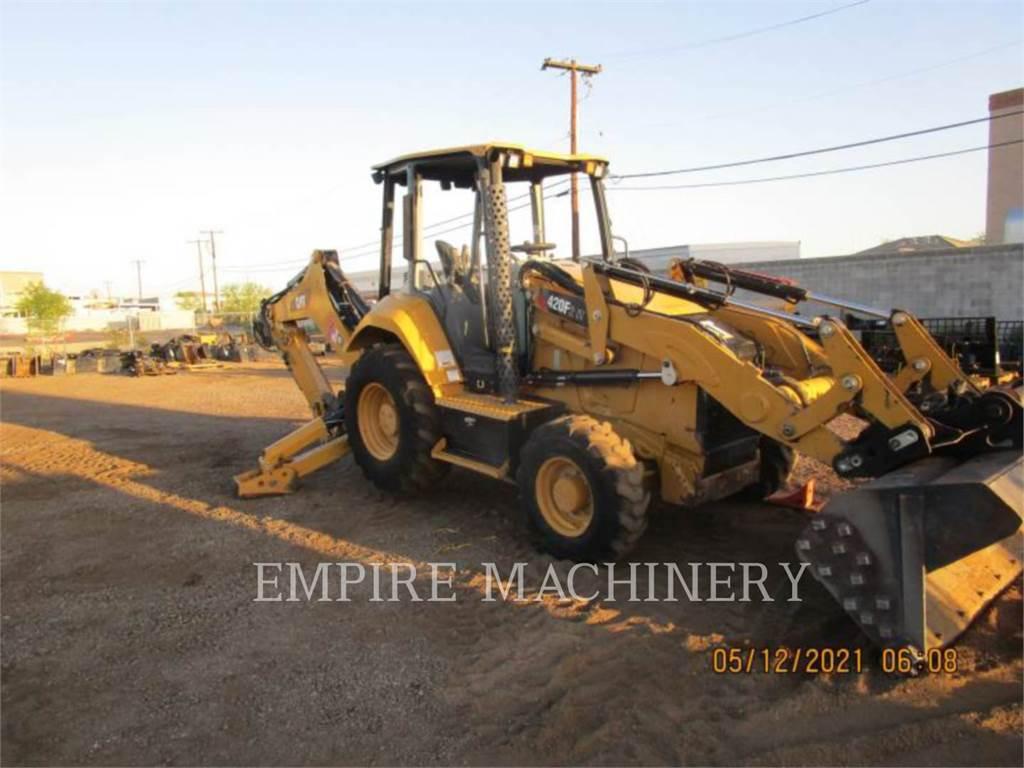 Caterpillar 420F2IT, retroexcavadoras cargadoras, Construcción