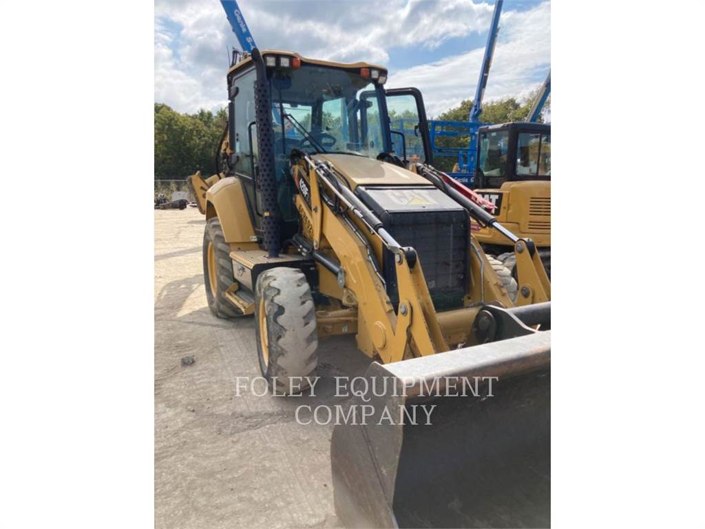 Caterpillar 420F2IT, graaf-laadcombinaties, Bouw