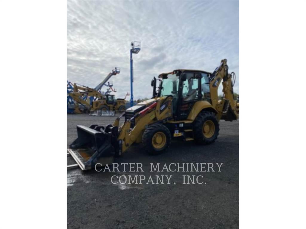 Caterpillar 420F2IT AC, buldoexcavatoare, Constructii