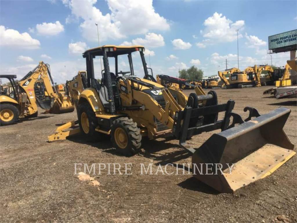 Caterpillar 420F2IT、バックホーローダ、建設