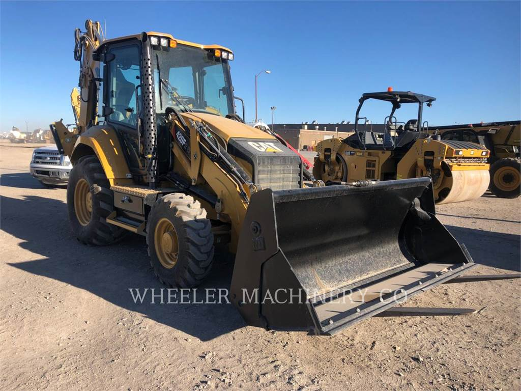Caterpillar 420F2ITETH, backhoe loader, Construction