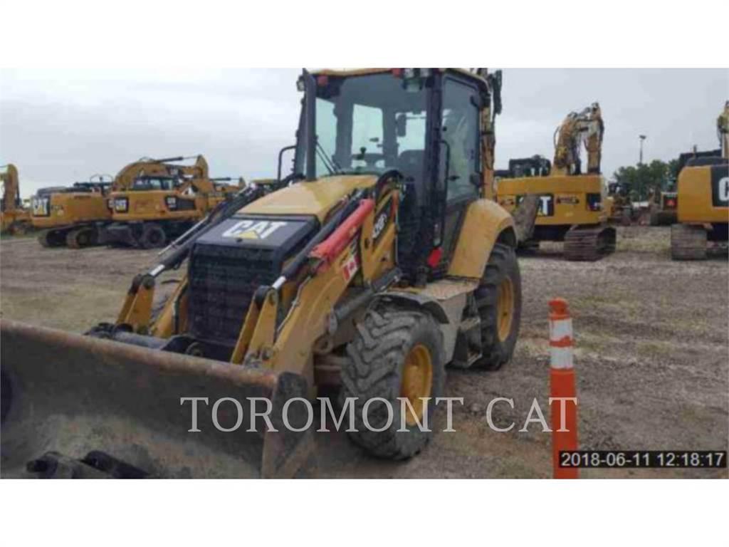 Caterpillar 420F2ITLRC, baggerlader, Bau-Und Bergbauausrüstung