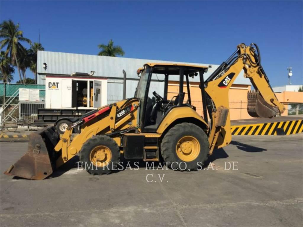 Caterpillar 420F2ITLRC, retroexcavadoras cargadoras, Construcción