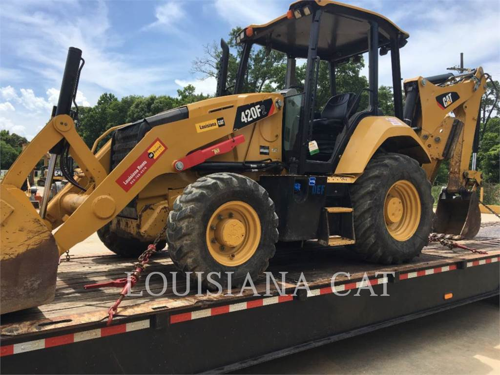 Caterpillar 420F2LAGSO, backhoe loader, Construction